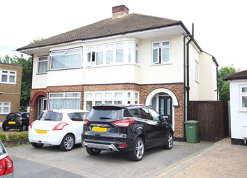 Thumbnail 3 bed semi-detached house to rent in Kenley Gardens, Hornchurch