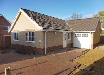 Thumbnail 3 bedroom detached bungalow for sale in Blackthorn Road, Wymondham