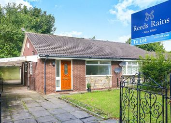 Thumbnail 2 bed bungalow to rent in Kilnwick Close, Manchester