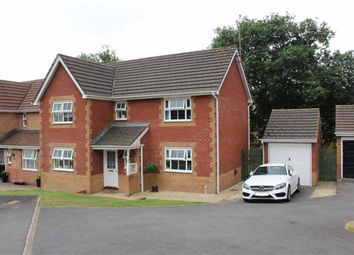 Thumbnail 4 bed detached house for sale in Clos Islwyn, Killay, Swansea
