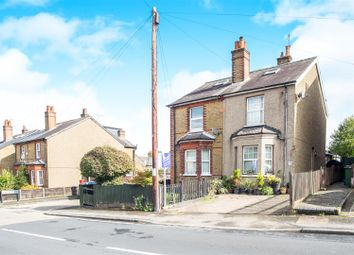 Thumbnail 2 bed semi-detached house for sale in Burgh Heath Road, Epsom