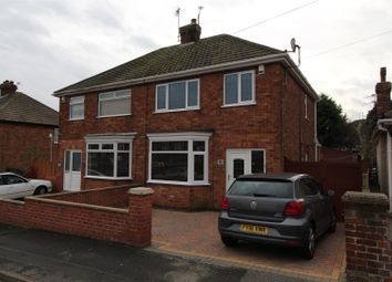 Thumbnail 3 bed semi-detached house for sale in Craithie Road, Cleethorpes