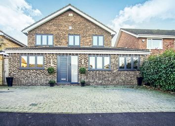 Thumbnail 4 bed detached house for sale in Penman Close, Chiswell Green, St.Albans
