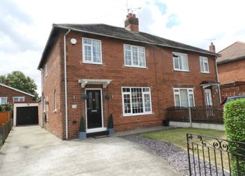 Thumbnail 3 bed semi-detached house for sale in Ballam Avenue, Scawthorpe, Doncaster