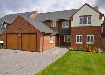 Thumbnail 4 bed detached house for sale in Lakes Edge, Eccleshall Road, Stone
