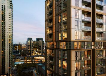 Thumbnail 1 bedroom flat for sale in Laker Court, 39 Harbour Way, Canary Wharf