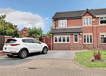 Thumbnail 3 bed semi-detached house for sale in Alwoodley Close, Hull
