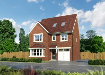 "Thumbnail 6 bedroom detached house for sale in ""Longrush"" at Moorfields, Willaston, Nantwich"