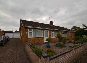 Thumbnail 2 bed semi-detached bungalow for sale in Peregrine Mews, Sprowston, Norwich