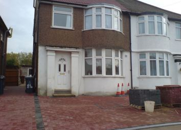 Thumbnail 2 bed flat to rent in Merlin Crescent, Edgware