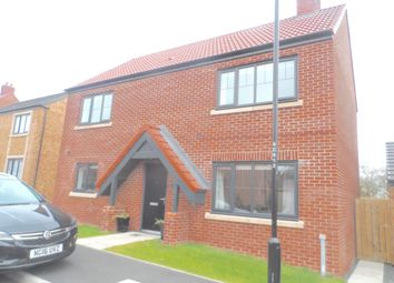 Thumbnail 4 bedroom detached house for sale in The Meadows, Wallsend