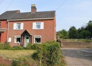 Thumbnail 3 bed semi-detached house for sale in Longford, Market Drayton