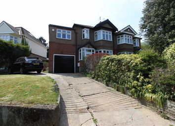 Thumbnail 4 bedroom semi-detached house to rent in Clay Hill, Enfield, London