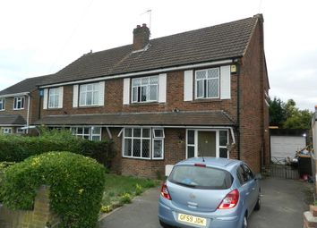 Thumbnail 3 bed semi-detached house to rent in Wendover Road, Burnham, Buckinghamshire