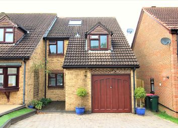 Thumbnail 4 bed semi-detached house for sale in Wilberforce Close, Crawley, West Sussex.
