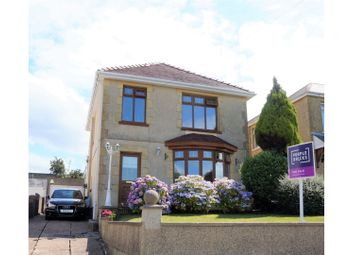 Thumbnail 3 bed detached house for sale in Mansel Road, Bonymaen