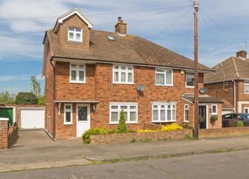 Thumbnail 4 bed semi-detached house for sale in Gaze Hill Avenue, Sittingbourne