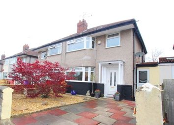 Thumbnail 3 bed semi-detached house for sale in Wayville Close, Mossley Hill, Liverpool