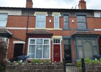 Thumbnail 3 bed terraced house for sale in Drayton Road, Kings Heath, Birmingham