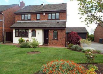 Thumbnail 4 bed detached house for sale in Swettenham Close, Alsager, Stoke-On-Trent, Cheshire