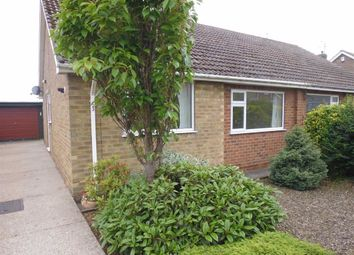 Thumbnail 2 bedroom semi-detached bungalow to rent in West Garth Gardens, Cayton, Scarborough