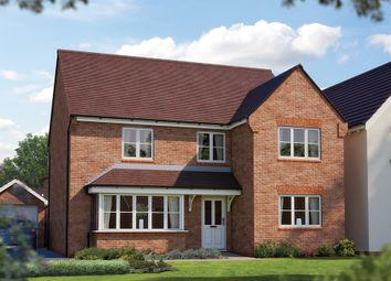 "Thumbnail 5 bed detached house for sale in ""The Chester"" at Crewe Road, Haslington, Crewe"