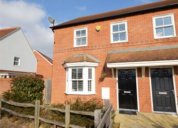 Thumbnail 3 bed semi-detached house for sale in The Acres, Horley, Surrey