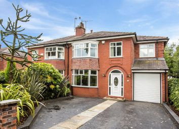 Thumbnail 5 bedroom semi-detached house for sale in Manor Road, Salford
