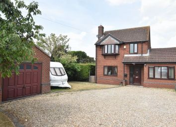 Thumbnail 3 bed property for sale in Gainsborough Road, Middle Rasen, Market Rasen