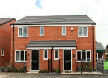 "Thumbnail 3 bed terraced house for sale in ""The Hanbury"" at Ward Road, Clipstone Village, Mansfield"