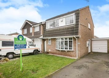 Thumbnail 3 bed detached house for sale in Mercia Drive, Perton, Wolverhampton