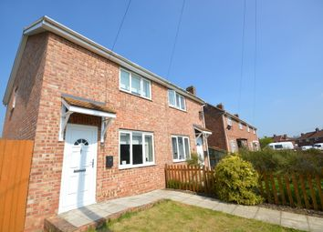 Thumbnail 2 bedroom semi-detached house to rent in Willbye Avenue, Diss