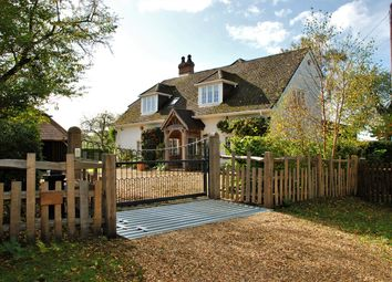 Thumbnail 5 bed detached house for sale in Ringwood Road, South Gorley, New Forest