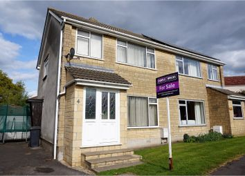 Thumbnail 3 bed semi-detached house for sale in Somerset Crescent, Stoke Gifford
