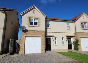 Thumbnail 3 bed semi-detached house for sale in Admirals Way, Inverness