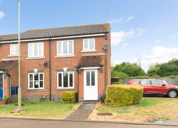 Thumbnail 2 bed end terrace house for sale in Lea Grove, Didcot