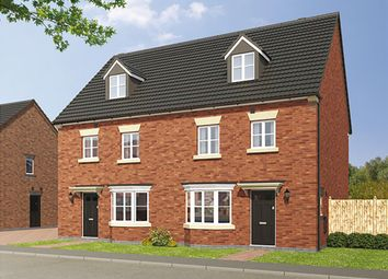 "Thumbnail 4 bed semi-detached house for sale in ""The Leicester"" at Loughborough Road, Rothley, Leicester"