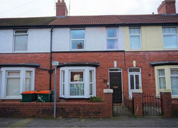 Thumbnail 4 bed terraced house for sale in Park Avenue, Rogerstone