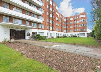 Thumbnail 1 bed flat for sale in Langham Court, Wyke Road, Raynes Park