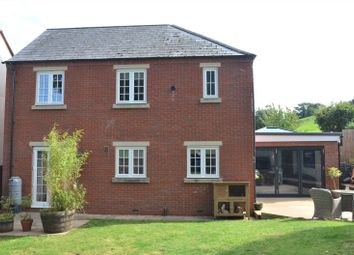 Thumbnail 4 bed detached house for sale in Heyridge Meadow, Cullompton, Devon