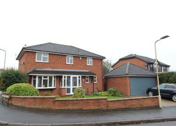 Woodlea Avenue, Lutterworth LE17. 4 bed detached house for sale