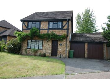 Thumbnail 4 bedroom detached house to rent in Webb Close, Bagshot