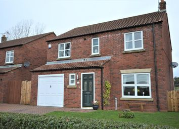 Thumbnail 4 bed detached house for sale in The Meadows, Foxholes, Driffield