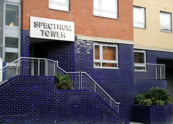 Thumbnail 2 bed flat to rent in Spectrum Tower, Ilford