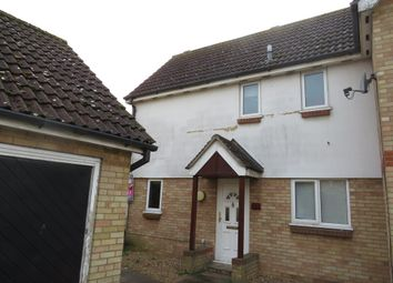 Thumbnail 2 bed semi-detached house for sale in Falcon Way, Beck Row, Bury St. Edmunds