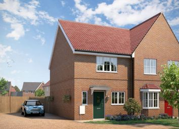 "Thumbnail 2 bedroom property for sale in ""The Sandown"" at Yarrow Walk, Red Lodge, Bury St. Edmunds"