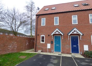 Thumbnail 3 bed town house for sale in Canal Close, Louth