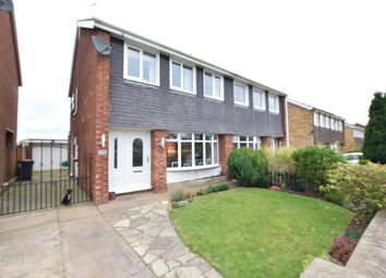 Thumbnail 3 bedroom semi-detached house for sale in Caistor Avenue, Scunthorpe