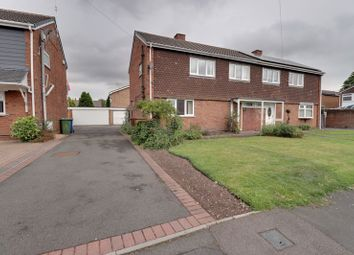 Thumbnail 3 bed semi-detached house for sale in Springfield Road, Rugeley