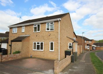 Thumbnail 3 bed semi-detached house to rent in Derwent Rise, Flitwick, Bedford